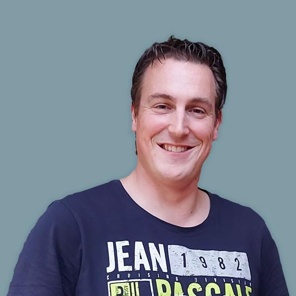 Mark Winter, nieuwe project engineer-constructeur