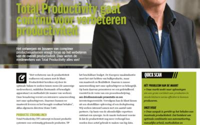 Focus op het verbeteren van de overall productiviteit