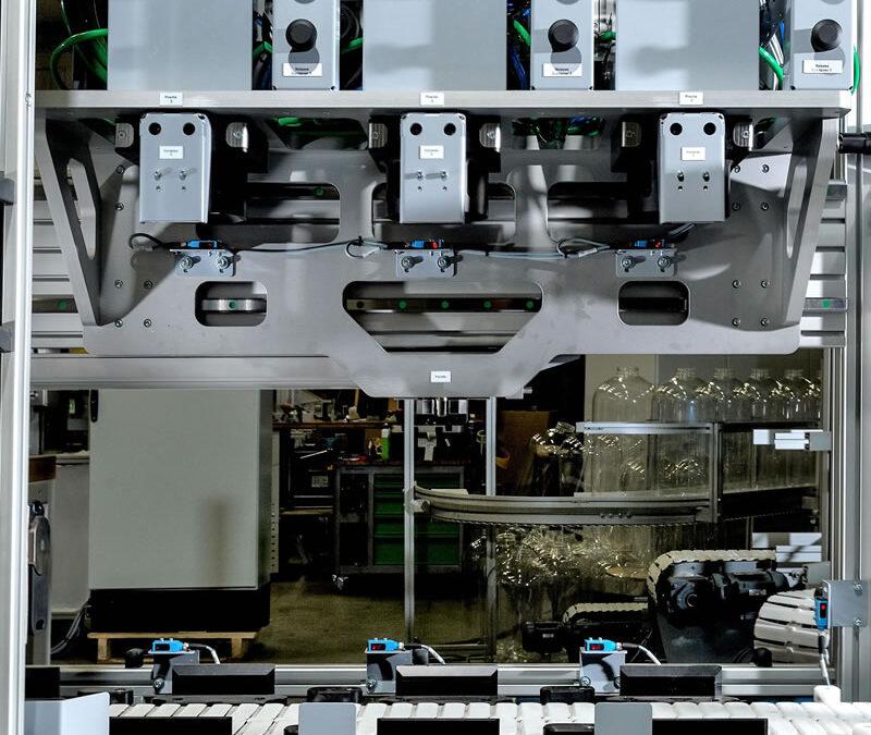 Automatische flush unit met digitale pneumatiek