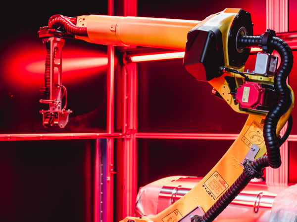 robot met vision cell