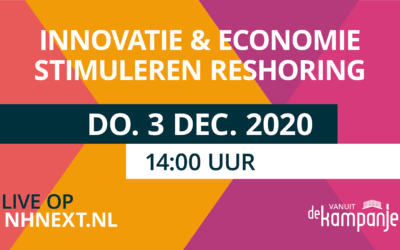 Livestream: Innovatie & economie stimuleren reshoring