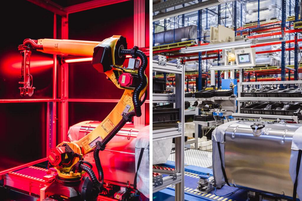 100% inspectie door Robot Vision Cell