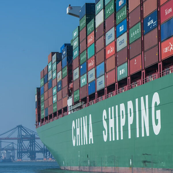 containertransport uit China